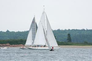Yachts racing in the Spirit of Tradition B class