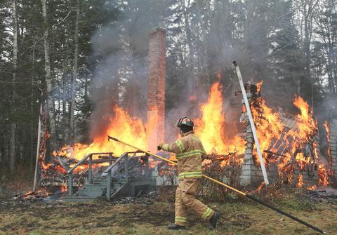 Brooklin firefighter Tom Morris