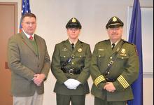 Stonington Marine Patrol Officer sworn in