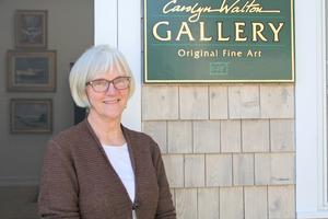 Artist Carolyn Walton