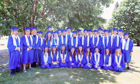 Deer Isle-Stonington High School graduation