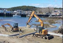 Hagen Dock work continues