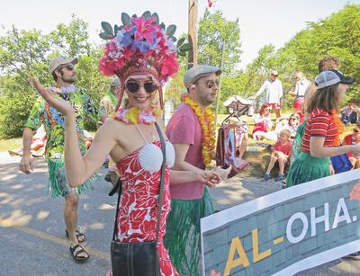 Deer Isle village parade