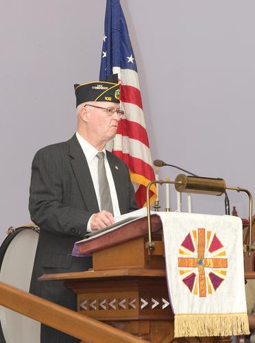 Speaker Fred Whitford.