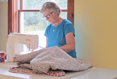 The stitching process