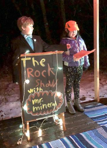 An interview of a rock