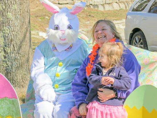 Susan Senecal and granddaughter Macey Starkey