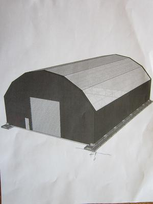 Proposed salt/sand shed
