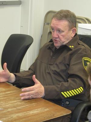 Hancock County Sheriff Scott Kane