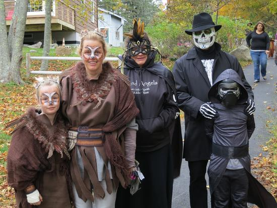 Ghosts, goblins and ghouls invade downtown