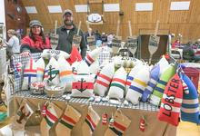 Holiday fair features local crafts