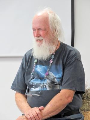 Deer Isle historian Bill Haviland