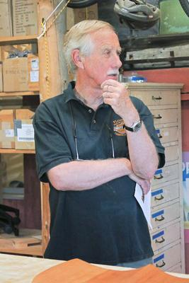 U.S. Sen. Angus King in Stonington