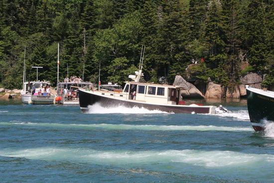 Wooden boat winner