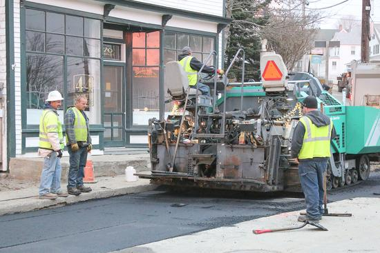 Main Street water line replacement project
