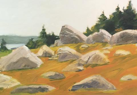 Turtle Gallery features art created on Great Spruce Head
