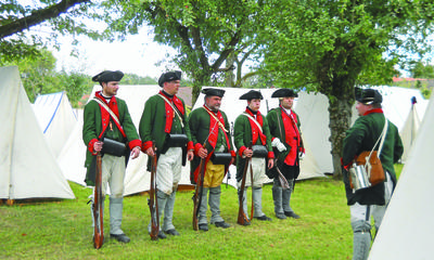 The British are coming! | Castine Patriot | Penobscot Bay Press