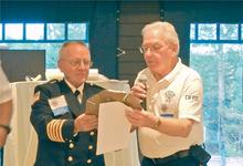 High honors for Fire Chief