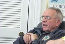 Harbormaster Denny Robertson