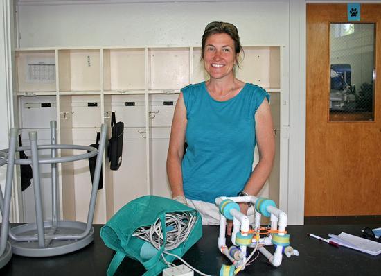 BHCS science teacher Nell Herrmann