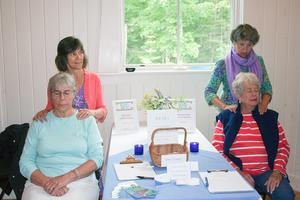 Shen and reiki therapy 'samples' at Women's Wellness Fair