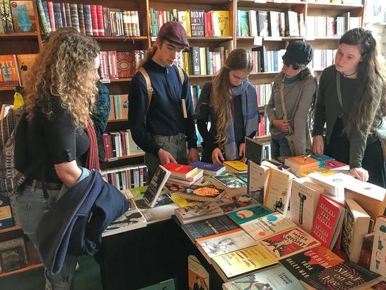 A book shop