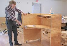 Moveable furniture