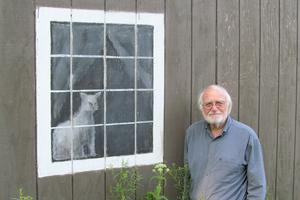 Bill Irvine turns a window into art