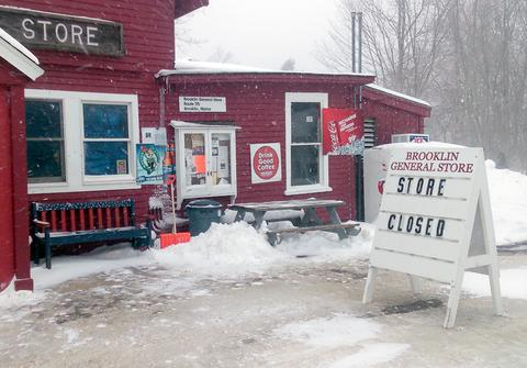 Unexpected closure of the Brooklin General Store