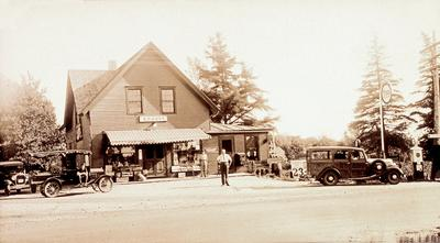 The Brooklin General Store, circa 1933