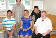 Members of Brooklin School Class of 2016