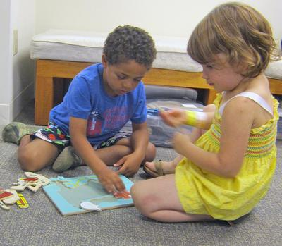 A new children's room for Brooksville Free Library