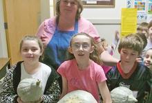 Gourds from the Brooksville Elementary School garden