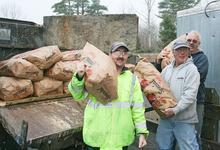 750 pounds of potatoes