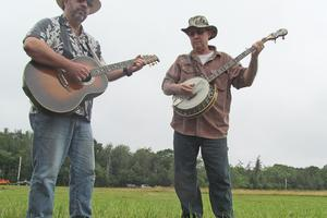 Bill Gawley and Allen Ramsdell perform for the crowd.