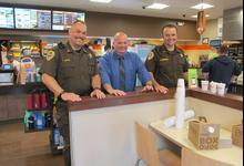 Coffee with a Cop comes to Blue Hill