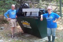 Keeping Long Island, Maine clean