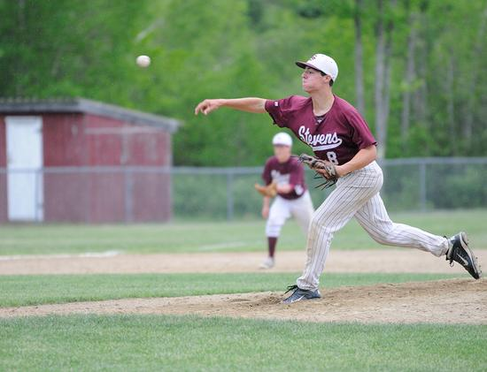 The Eagle's Anthony Bianco pitches against Mattanawcook