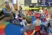 Storytime at Brooksville Elementary School