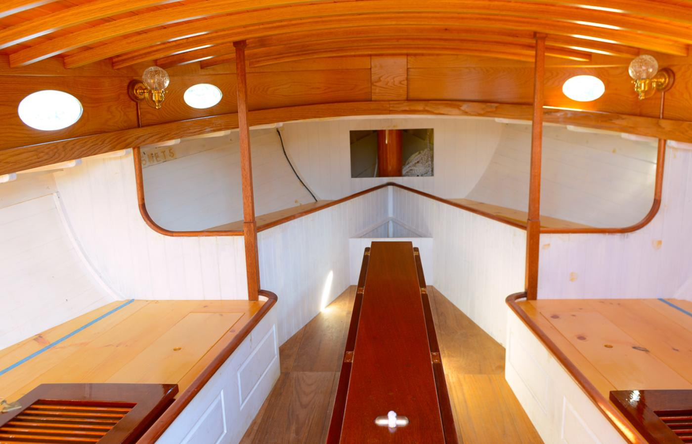 A second life for a catboat