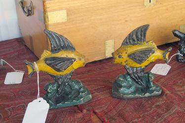 Fish as bookends