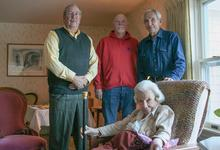 Surry selectmen honor oldest resident