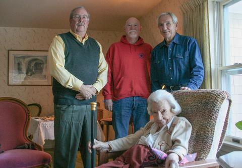 Surry selectmen honor oldest resident