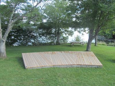 A new stage for Blue Hill Park