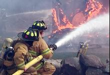 Practice burn draws 37 firefighters