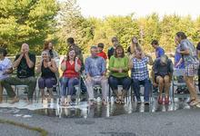 Sedgwick teachers take the ice bucket challenge