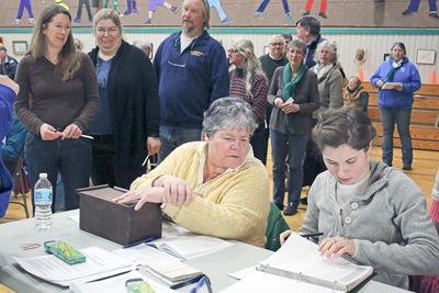 Checking voter rolls