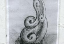 Artist's sketch of Schoodic sculpture