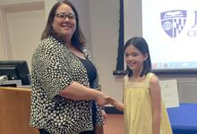 Rebecca Aponte honored at awards ceremony