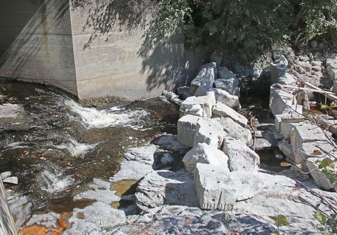 Granite ledges